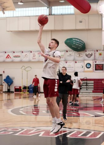 Mauritson makes a mark at CWU
