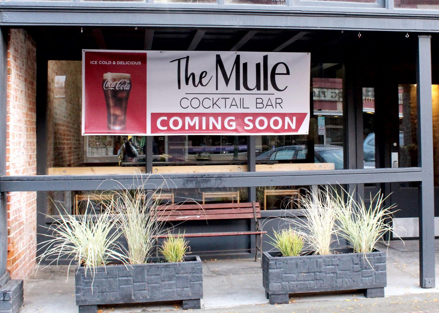 The Mule is a Cocktail Bar that is owned by Sarah Schneider Beauchamp and Russell Colmore which is soon to come to downtown Ellensburg.