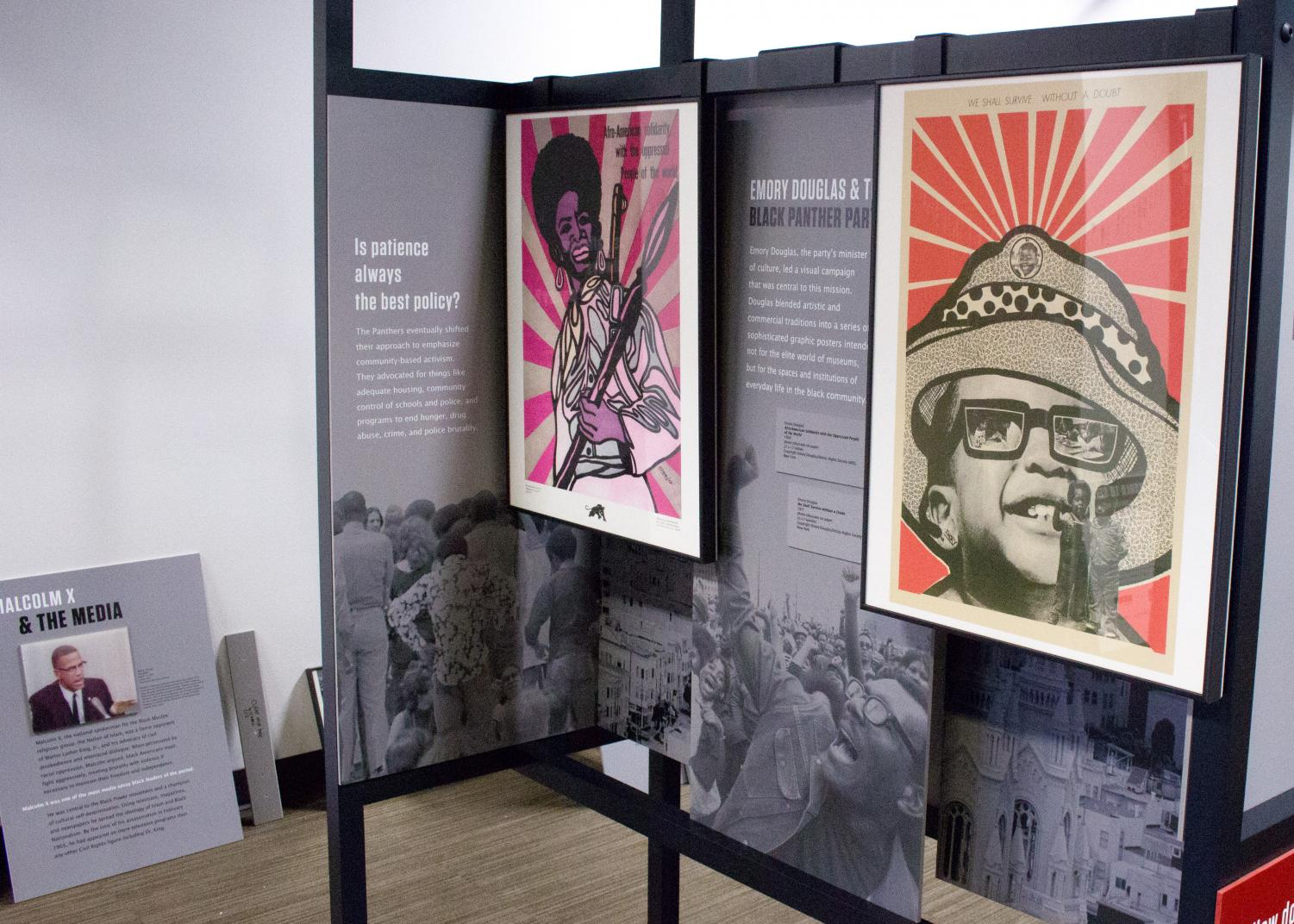 An exhibit celebrating Black History Month will be available for view from Jan. 30 through March 16. The exhibit will focus on culture and civil rights.