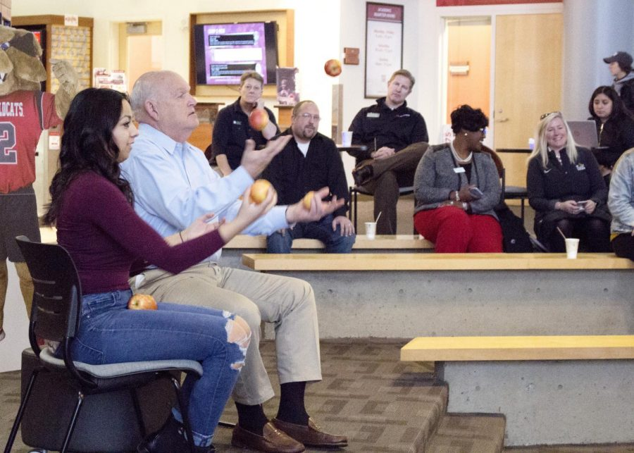 Students connect with presidents during Q&A event