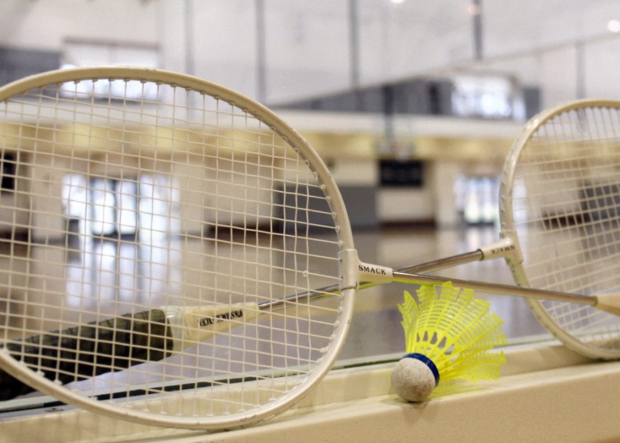 The+badminton+competition+was+held+on+Saturday.+Students+had+a+chance+to+get+out+and+play+against+other+students+in+a+fun%2C+non-competitive+style.