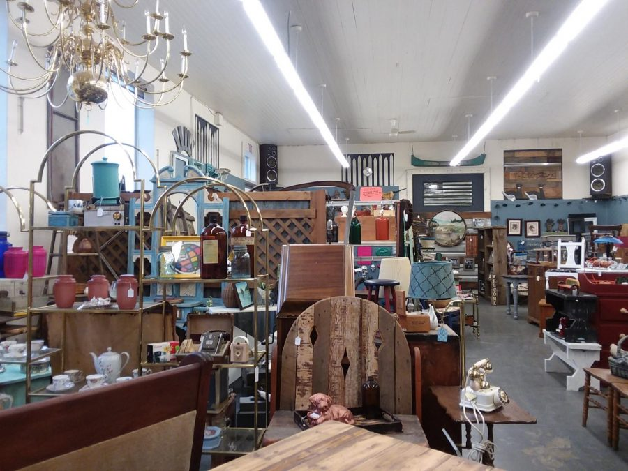 Functional Junk Salvage is located at 400 W Fifth Ave. They specialize in turning old and otherwise useless items into functional pieces of art or furniture for people to purchase. The store is co-owned by Daniel Morton and Jaque Stanley.
