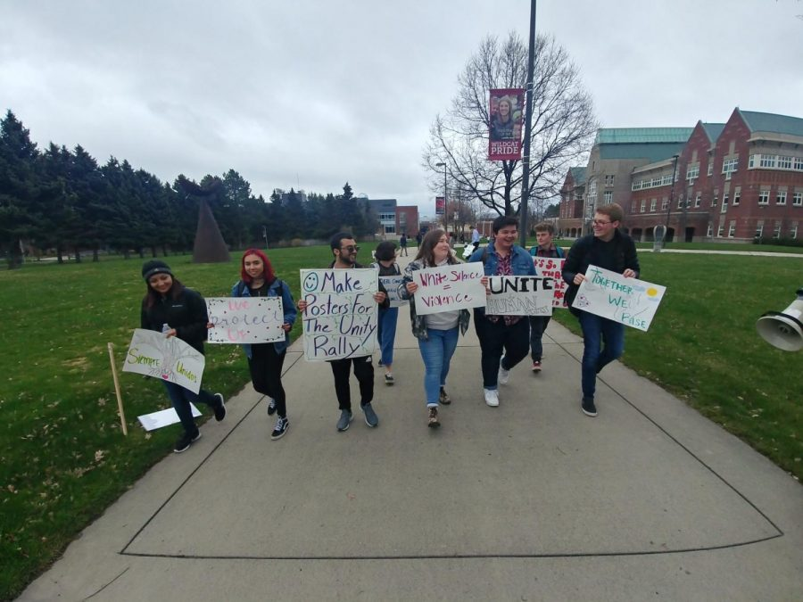 CWU students march for unity