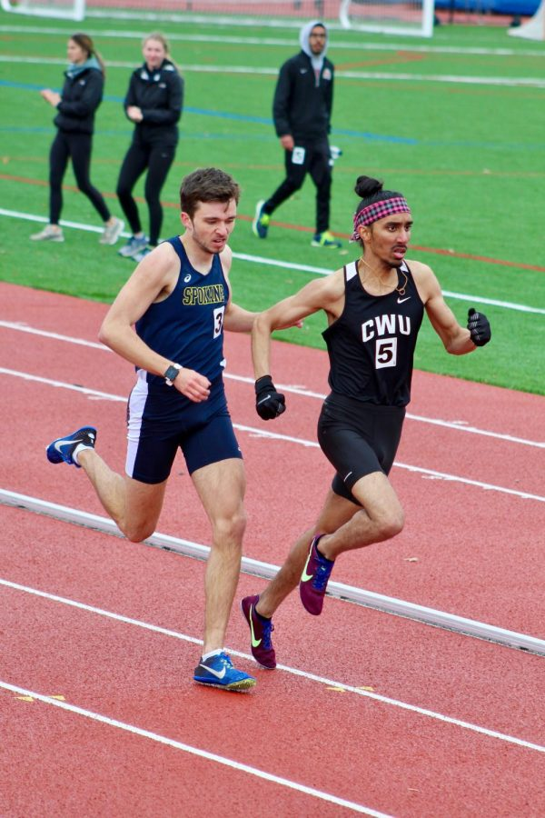 Inaugural track meet held at Recreation Sports Complex