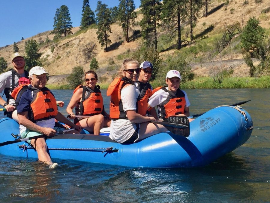 Rafting offers outdoor adventure