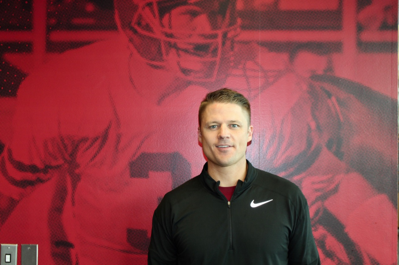 Kelly Bills is the new offensive coordinator. Bills the former assistant coach and quarterbacks coach for Weber University.