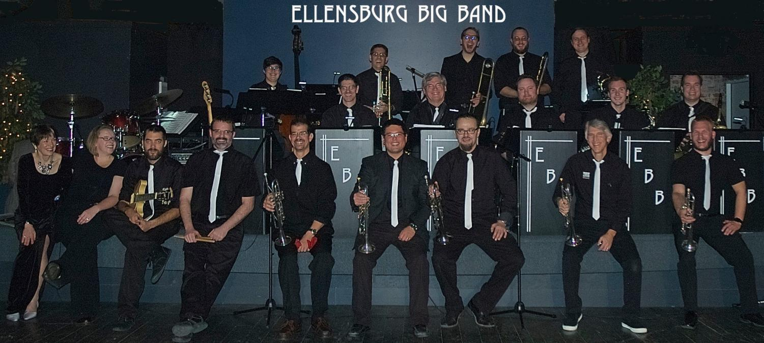 The Ellensburg Big Band are one of many groups who will be performing at Jazz in the Valley this summer. The group performs at many events around the community, including the Ellensburg Swing Out and Valentine's Day Soiree at CWU. This year's Jazz in the Valley will take place July 26-28 at various venues around downtown Ellensburg.