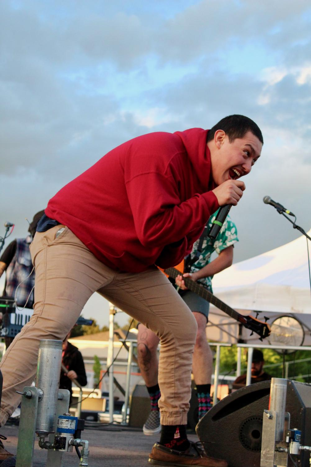 Hobo Johnson was the main performer at Wild Fest. They came on stage at 8 p.m. and played several of their songs for students, who sang along. Wild Fest was a part of Student Appreciation Day, which for the first time, was held at the Recreation Sports Complex
