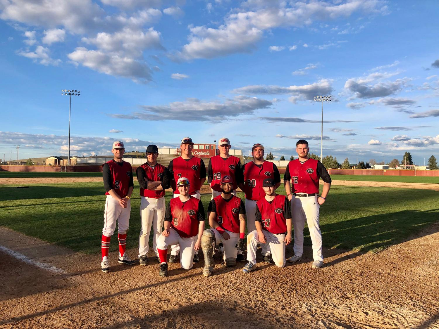 Club baseball had their first game ever in April 2019. The season started late and only allowed for four games to be played. They had about 12 players turn out but expect to have 30 or more in next year's season.