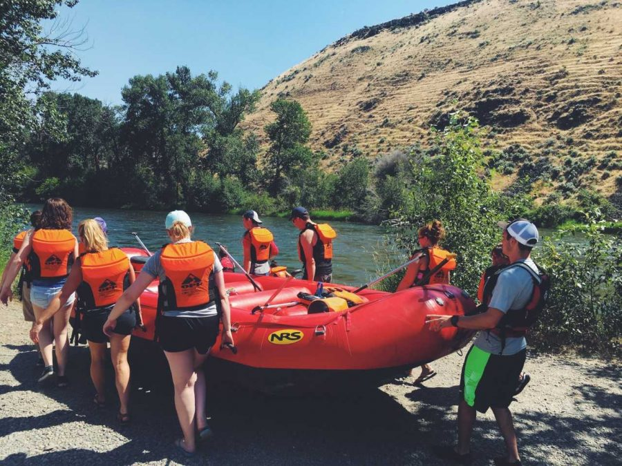 OPR offers outdoor activities like hiking, climbing, camping and rafting throughout the summer. OPR also offers group activities in the summertime like a guided horseback ride. Gear is available to rent from OPR's office.