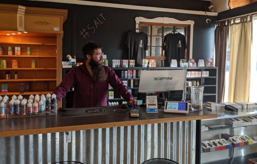 Vape ban affects local businesses