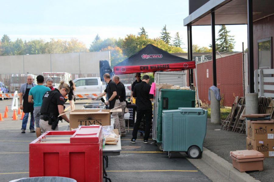 CWU Police connects with students