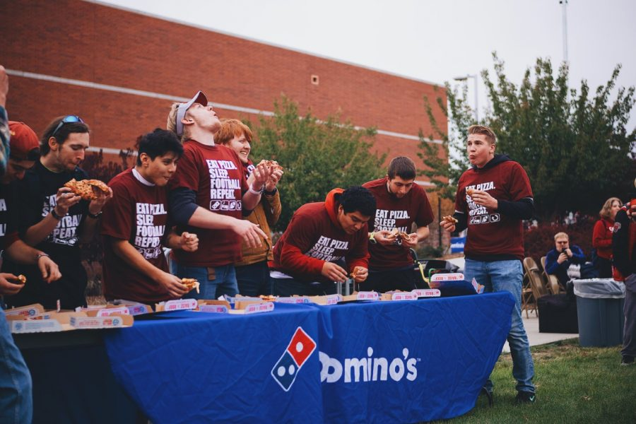 Celebration at the tailgate