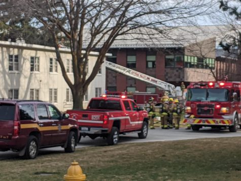 Breaking: North Hall resident's laptop catches fire