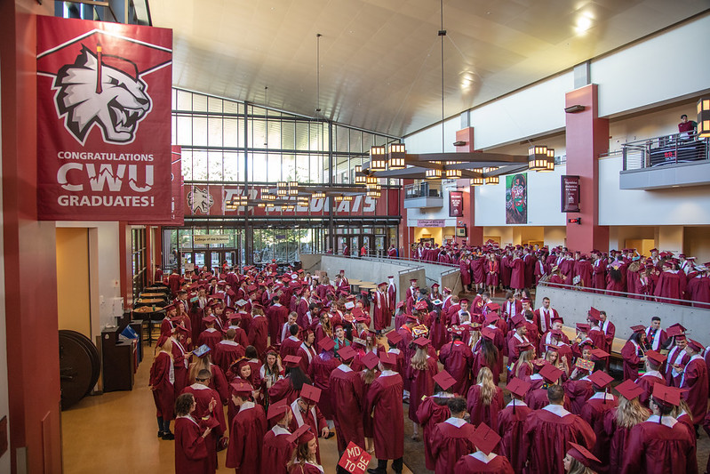 CWU will not reschedule spring commencement