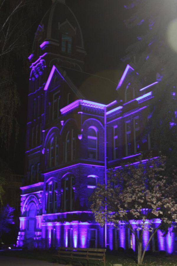 CWU joins Light It Blue tribute