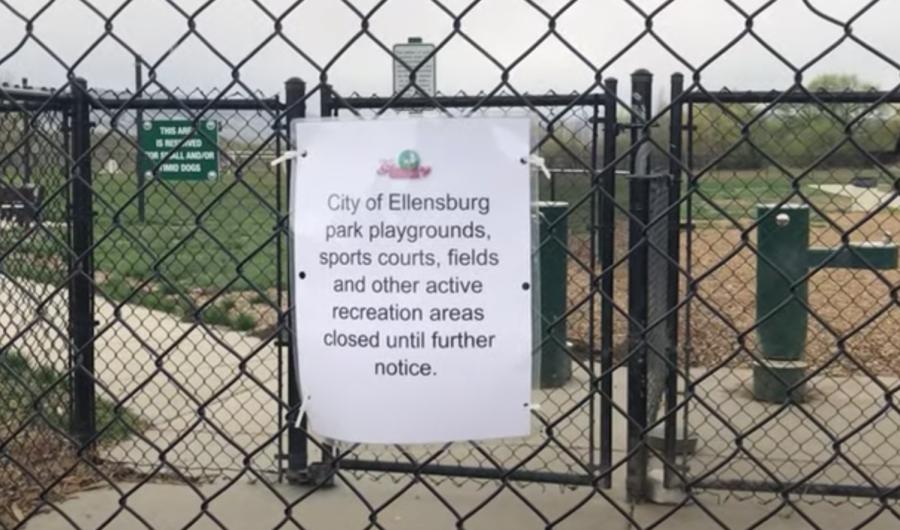 Washington residents not following park closures