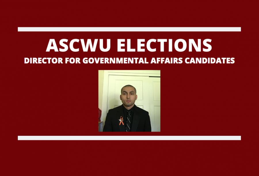 Meet the ASCWU Director for Governmental Affairs candidate