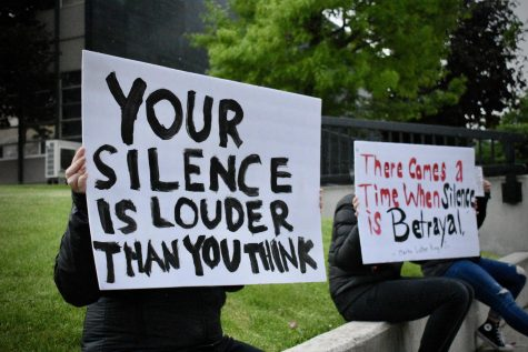 Black Lives Matter protest held outside courthouse