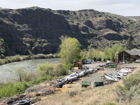 A sight of the Yakima river at Canyon River Ranch, near Wymer. Local businesses are introducing sanitation and social distancing measures to tackle COVID-19, but most services are still operating.