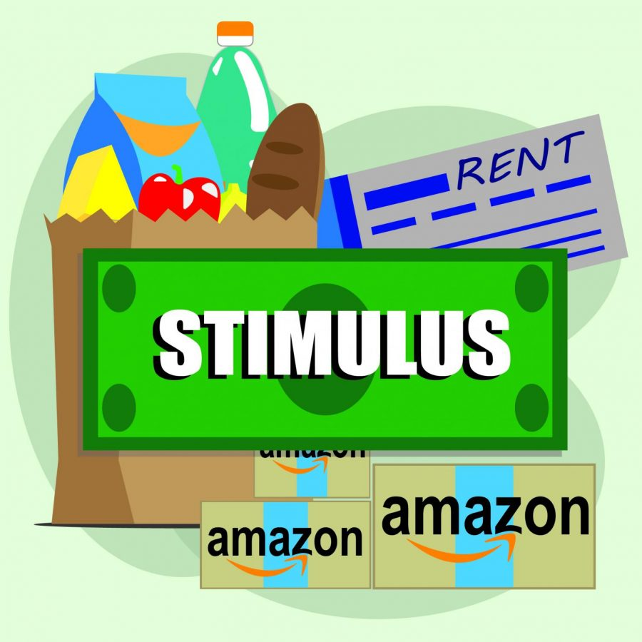 Students use stimulus check for debts and miscellaneous shopping