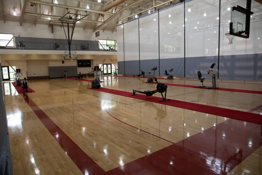 Returning to the recreation facilities