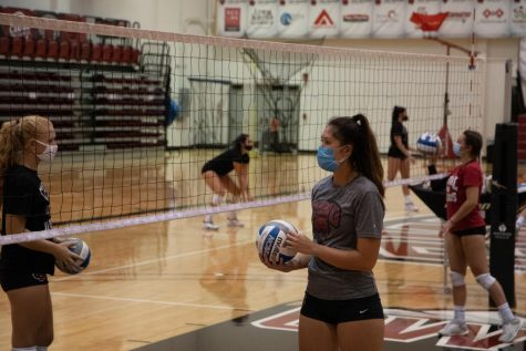 CWU volleyball team preparing for potential spring season