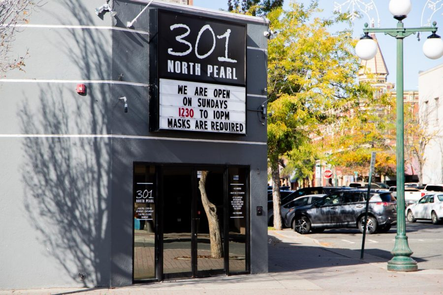 In the heart of Ellensburg, Club 301 provides a modern atmosphere for dancing and drinking.