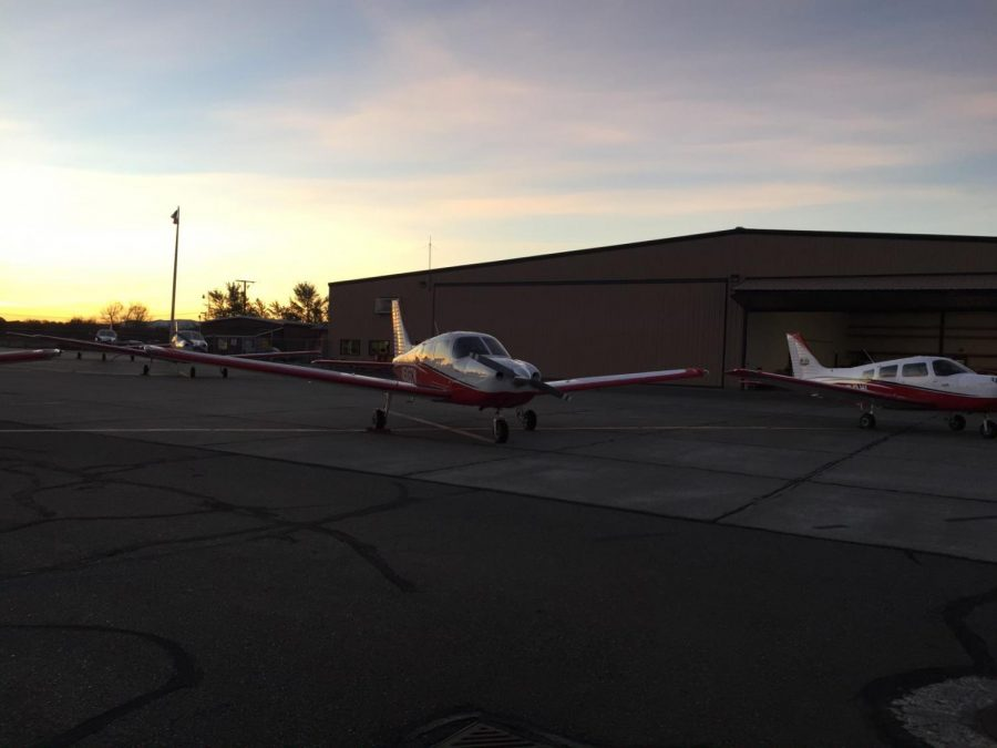 CWU's unique location allows the aviation program, aviation majors and pilots to train year around. Pilots have gained experience from the winds of Ellensburg trying to fly and land safely.