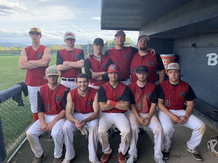 May 5th, 2019 vs Gonzaga. Top row (left to right) Tobin, Pete, Tyler, Christian, Nicky Bottom row (left to right) Unknown, Tanner, Ren, Unknown, Hayden