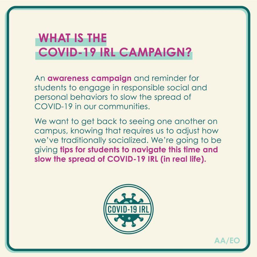 ASCWU's COVID-19 IRL campaign hits social media