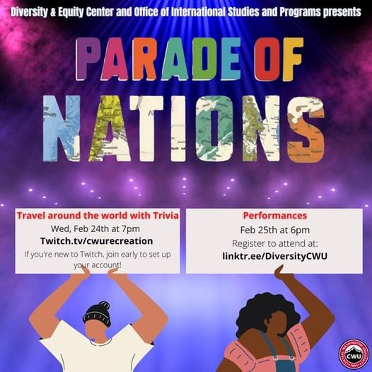 Annual Parade of Nations event happening via Zoom this week