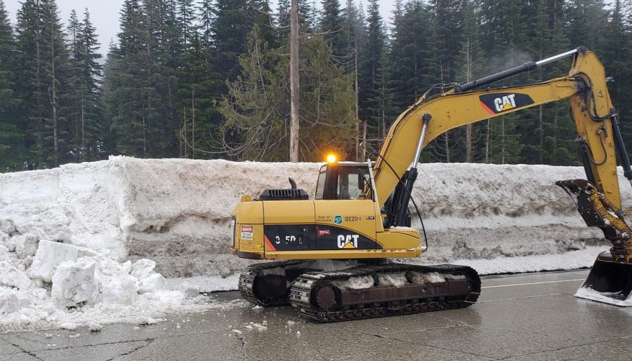 Updated information regarding pass conditions or pass closures can be found on WSDOT's website or social media accounts.