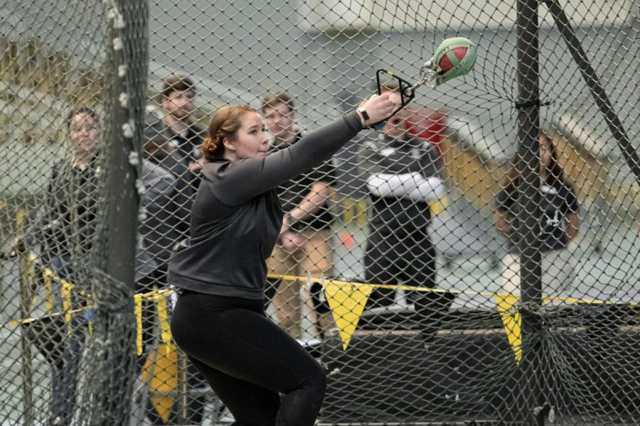 Megan+Smallbeck+earned+All-Region+honors+in+the+weight+throw+based+on+her+performances+in+2019.