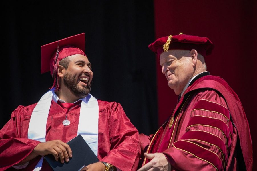 President Gaudino reflects on time spent at CWU