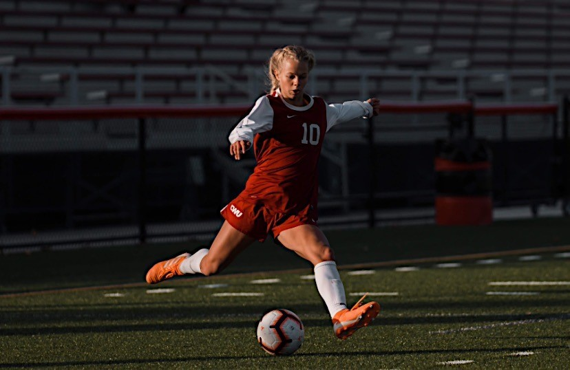 Sydney Lowe is excited to play a spring season, she is a returning starter for the Wildcats.