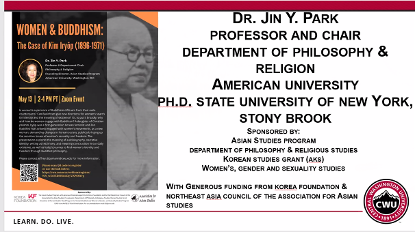 Asian Studies program invited guest speaker to discuss 'Women and Buddhism'