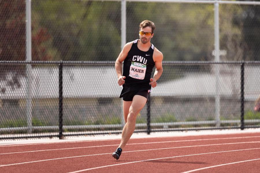 Braydon Maier (Photo courtesy of CWU Athletics)