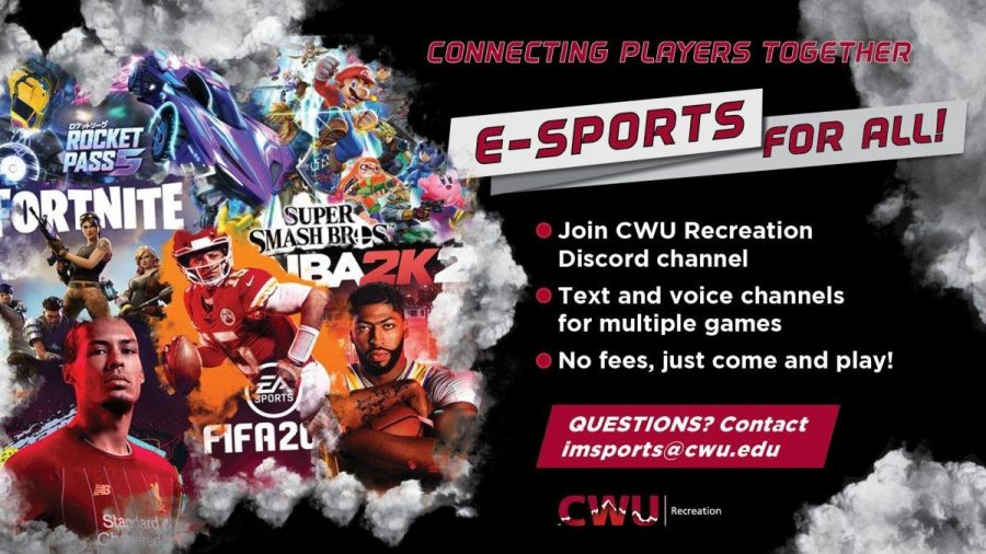 When's the next CWU e-sports event?