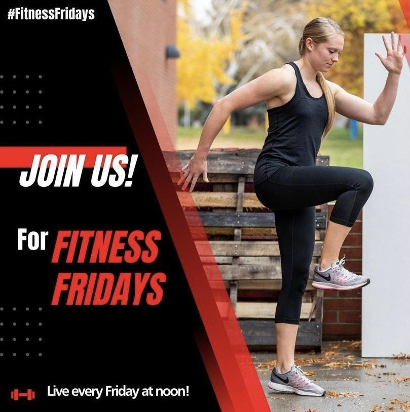 Finish the Quarter Strong with Group X and Fitness Friday