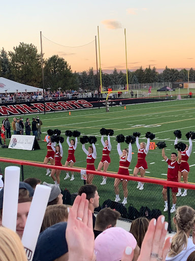 Game Day for Cheerleaders and Marching Band